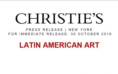 Subasta Christie's Nov 2018